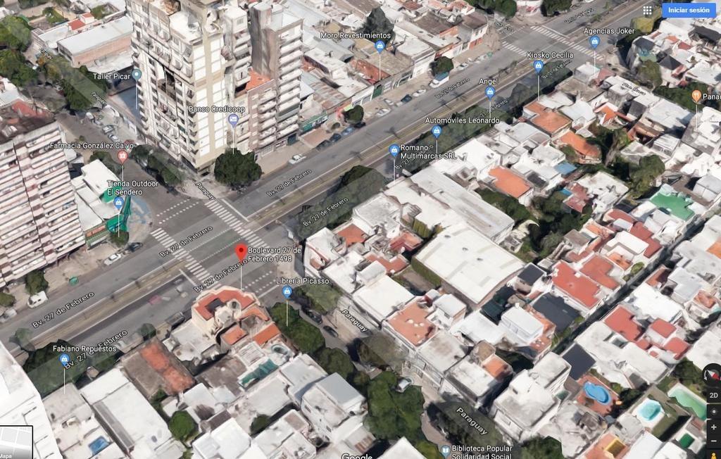 Vista Aérea Alquiler Temporario en Rosario
