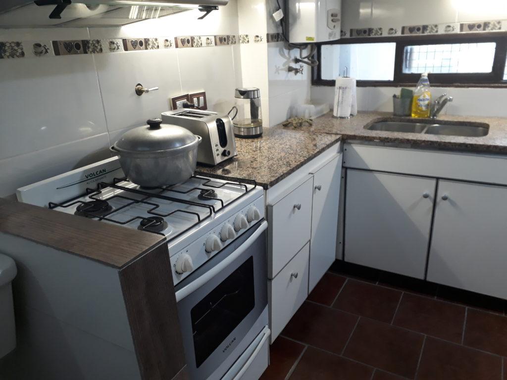 Moderna cocina en Rosario - Alquiler Temporario